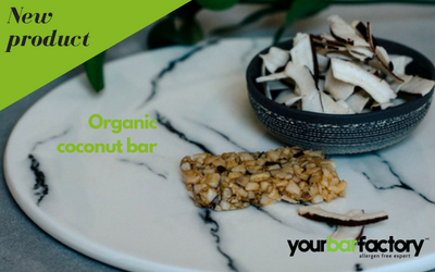 Organic coconut bar