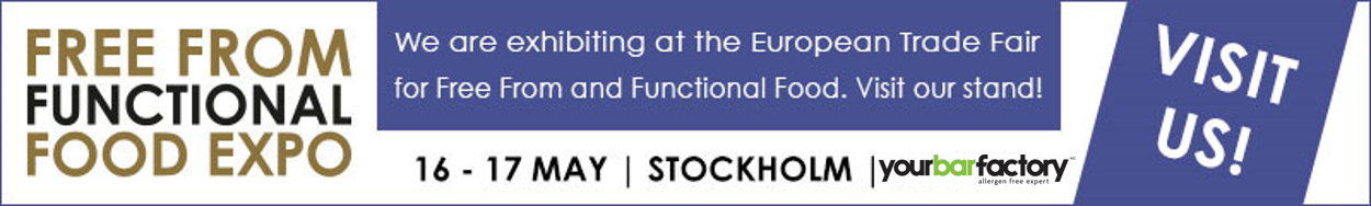 Free From Functional Food Expo 2018 in Stockholm