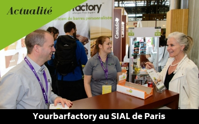 Yourbarfactory au SIAL de Paris