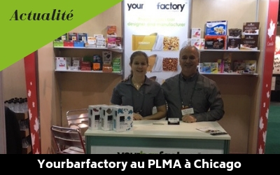 Yourbarfactory au PLMA à Chicago
