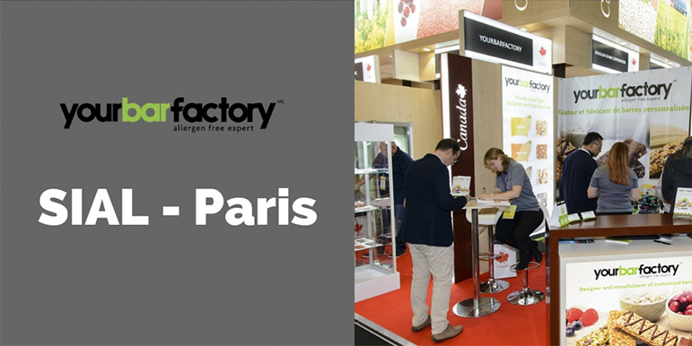Yourbarfactory at SIAL in Paris