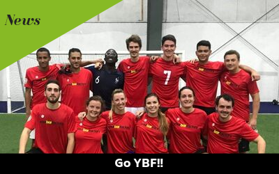 YBF is getting into soccer!