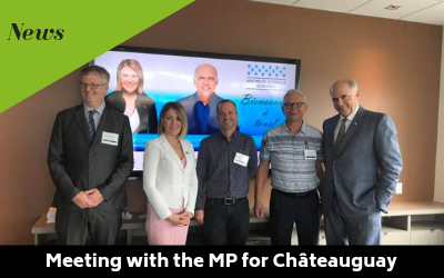 Meeting with the MP for Châteauguay