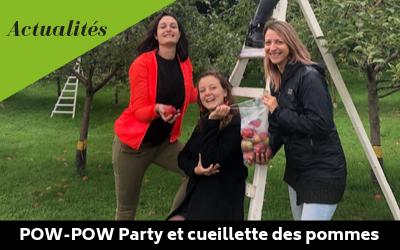 Pow-Pow Party et cueillette de pommes