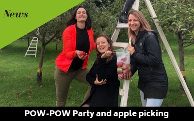 Pow-Pow Party and apple picking